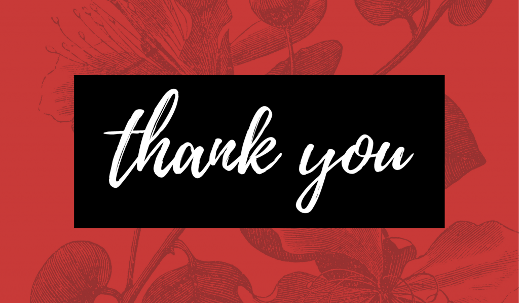 We Are Grateful for Your Response!